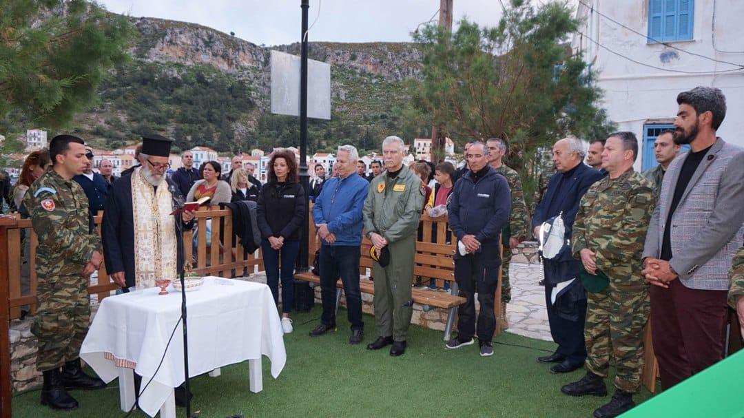 Ευάγγελος Αποστολάκης και Πρίγκηπας Νικόλαος στην ΜΚΟ Axion Hellas