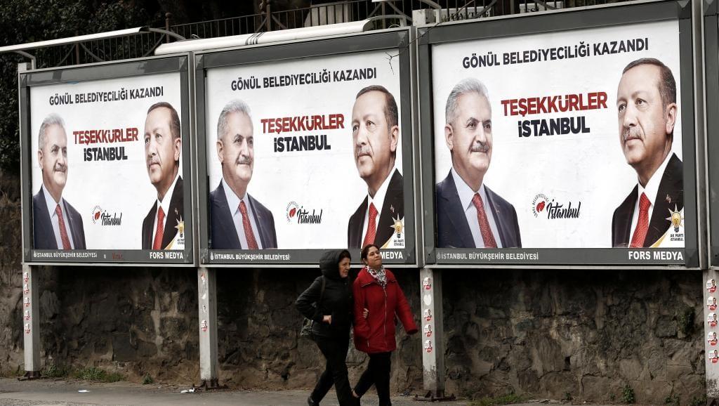 Τουρκία: Το AKP τα βάζει με την Ευρώπη για το αποτέλεσμα των εκλογών