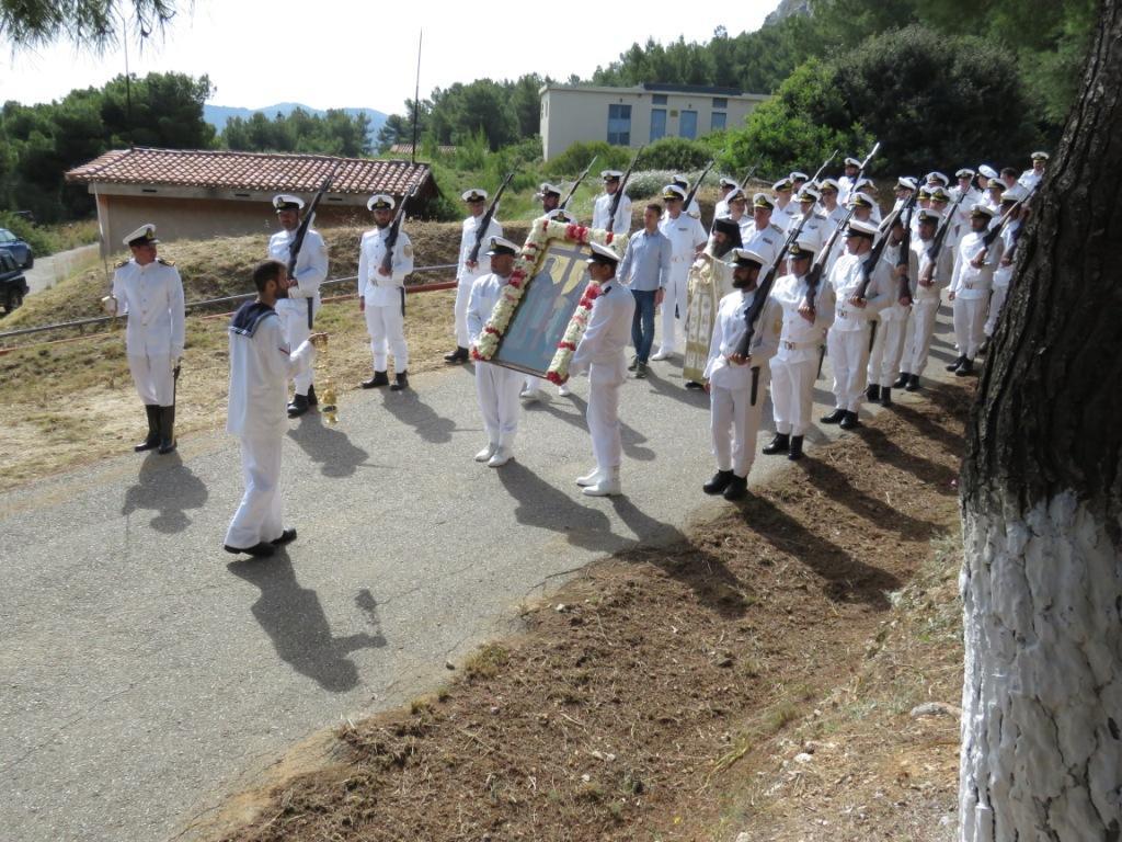 Ναύσταθμος Σαλαμίνας: Τελετή Εορτασμού των Αγίων Κωνσταντίνου και Ελένης – ΦΩΤΟ