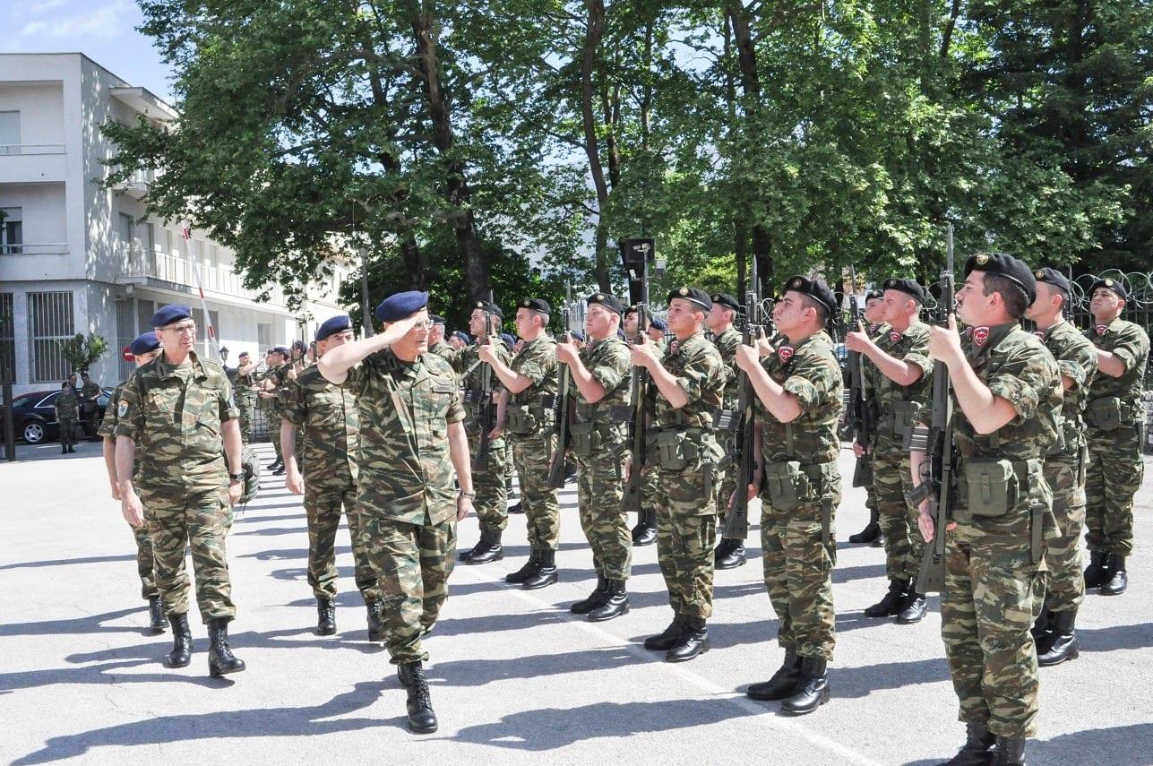 Ο Αρχηγός ΓΕΣ στην 8η Μ/Π Ταξιαρχία μαζί με τον Δκτή του Γ΄ΣΣ