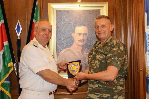 1η Στρατιά: Τι είπαν αντιναύαρχος Πετράκης & αντιστράτηγος Φλώρος