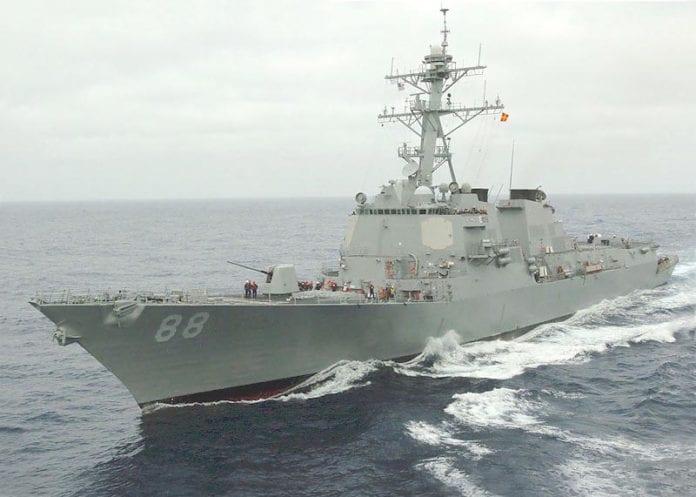 Το USS Preble στη Θάλασσα της Νότιας Κίνας - Ανεβαίνει η ένταση