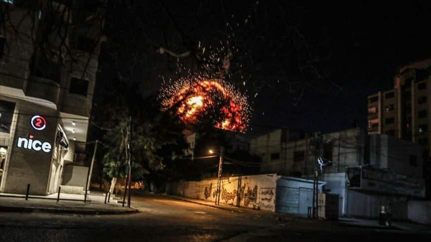 Το Ισραήλ ισοπέδωσε το τουρκικό πρακτορείο Anadolu στη Γάζα