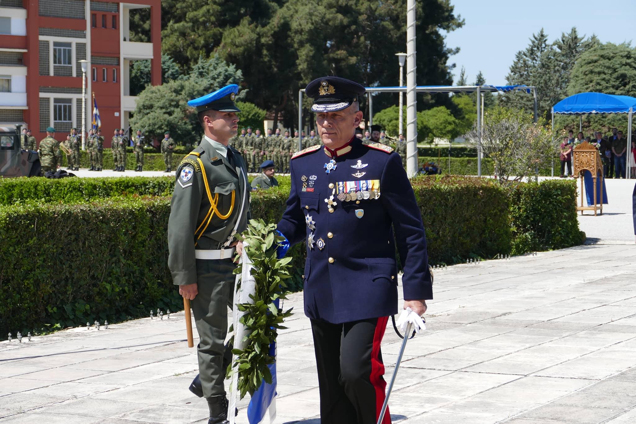Λάρισα: Η 1η Στρατιά τίμησε τον Άγιο Γεώργιο VIDEO - ΦΩΤΟ