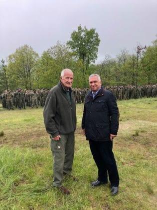 Ο στρατηγός Κωσταράκος στην άσκηση «Μακεδονομάχος 2019»