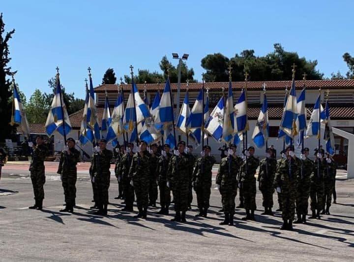Σχολή Πεζικού: Οι πρώτες ΦΩΤΟ από την γιορτή του Αγίου Γεωργίου