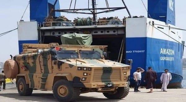 Λιβύη: Τουρκικά τεθωρακισμένα κάνουν «απόβαση»