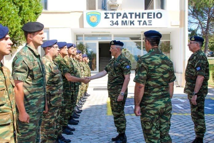 Αρχηγός ΓΕΣ: Επίσκεψη στην Περιοχή Ευθύνης του Γ΄ΣΣ