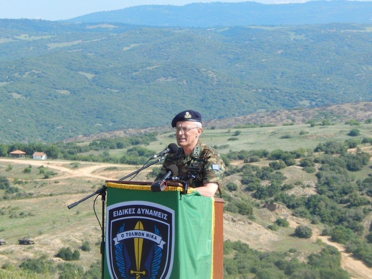 Ο Αρχηγός ΓΕΣ στην 1η Μεραρχία Πεζικού - ΦΩΤΟ