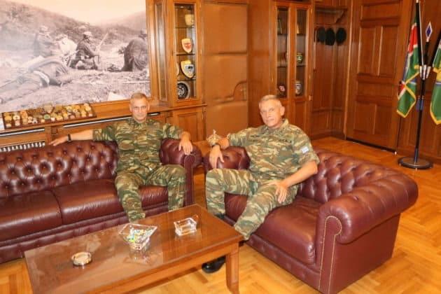 1η Στρατιά: Τι συζήτησαν τα «κομάντο» Φλώρος - Δημητρόπουλος ΦΩΤΟ 1 1η Στρατιά: Τι συζήτησαν τα «κομάντο» Φλώρος - Δημητρόπουλος ΦΩΤΟ
