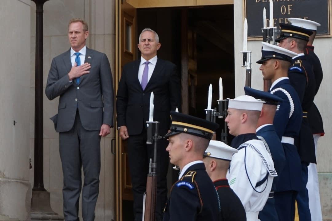 Ο Αποστολάκης στις ΗΠΑ και η συνάντηση με τον Αμερικάνο υπουργό