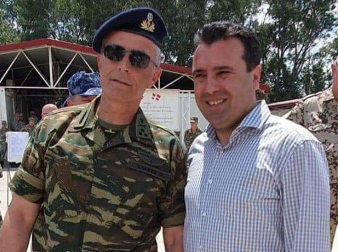 Βόρεια Μακεδονία: Ο Αρχηγός ΓΕΣ συνάντησε τον Ζόραν Ζάεφ