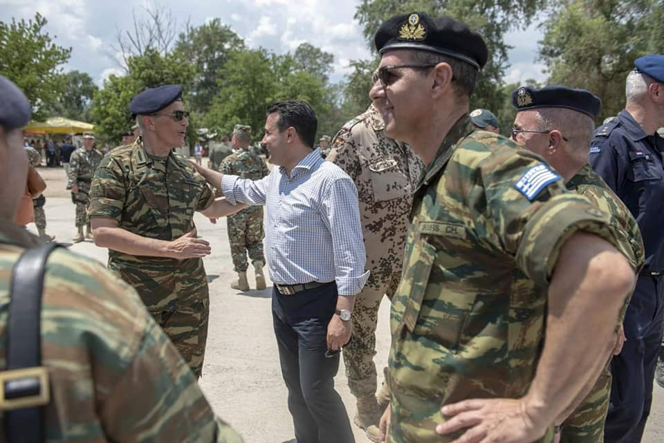 Βόρεια Μακεδονία: Ο Αρχηγός ΓΕΣ συνάντησε τον Ζόραν Ζάεφ 1 Βόρεια Μακεδονία: Ο Αρχηγός ΓΕΣ συνάντησε τον Ζόραν Ζάεφ
