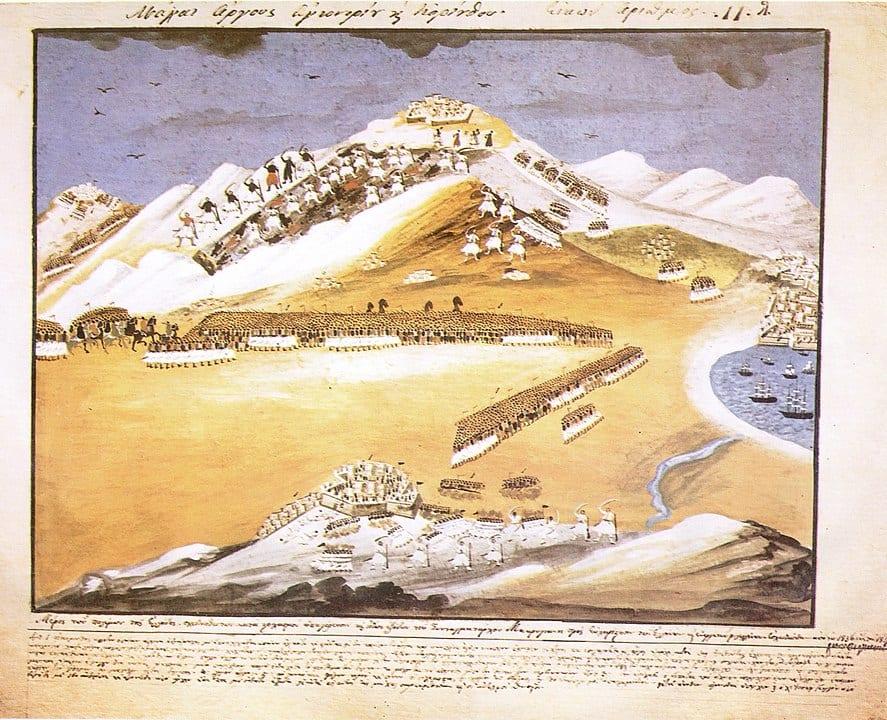28 Ιουλίου 1822: Η Μάχη του Αγιονορίου - Νικηταράς εναντίον Δράμαλη
