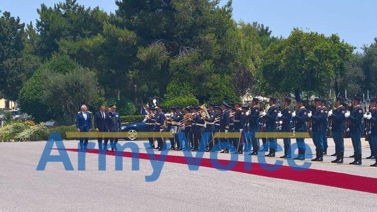 Υπουργείο Εθνικής Άμυνας: Παράδοση - Παραλαβή ΥΕΘΑ