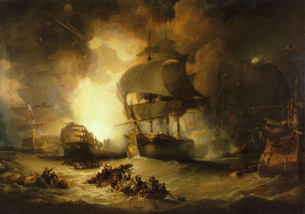 1η Αυγούστου 1798: Η Ναυμαχία του Νείλου - Ναπολέων Βοναπάρτης