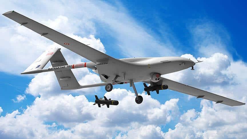Τουρκικά drones Bayraktar στην Κύπρο για το γεωτρύπανο Πορθητής