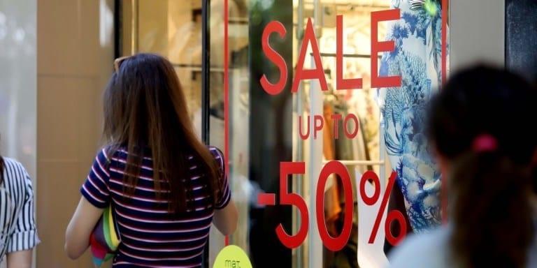 Κυριακή 14 Ιουλίου: Τι ώρα ανοίγουν τα μαγαζιά -Ωράριο -Εκπτώσεις 2019 Ανοικτά καταστήματα Κυριακή 14 Ιουλίου Ωράριο- Θερινές εκπτώσεις 2019