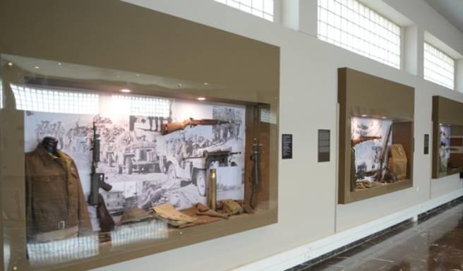 1η Στρατιά: «Πολεμικό Μουσείο» η αίθουσα τιμών