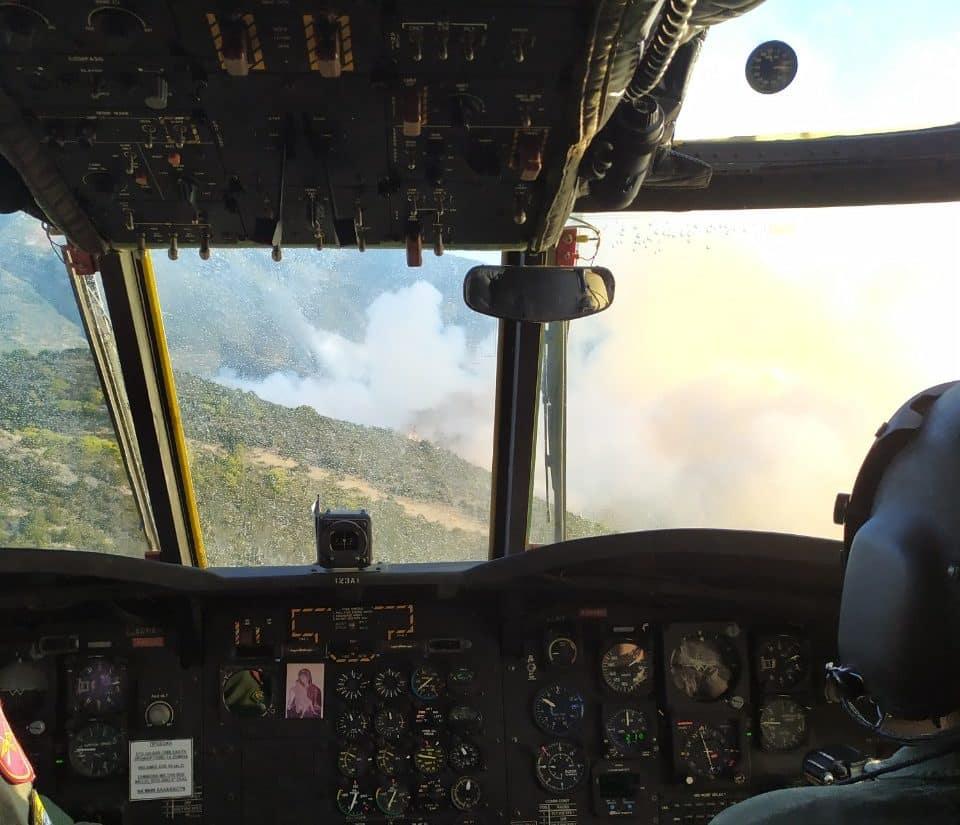 Εύβοια 2019: Η φωτιά μέσα από το πιλοτήριο - Συγκλονιστικές ΦΩΤΟ