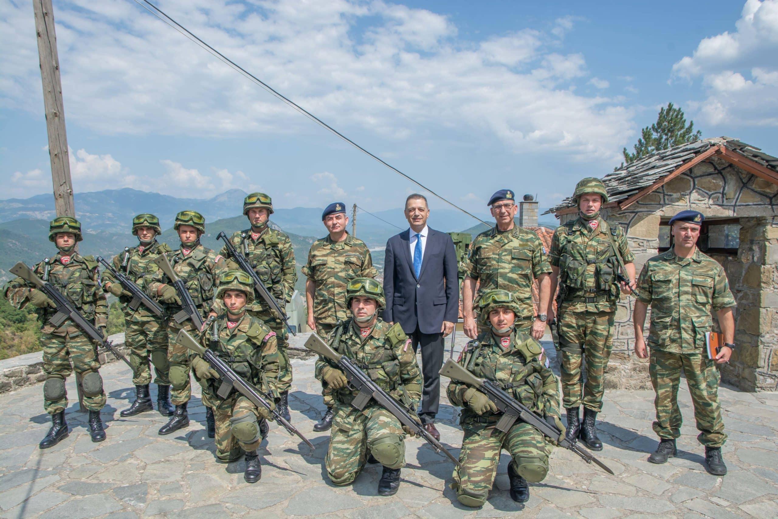 Αλβανική μεθόριος: Αλλάζει η απειλή -Οδηγίες Στεφανή-Σημεία επέμβασης