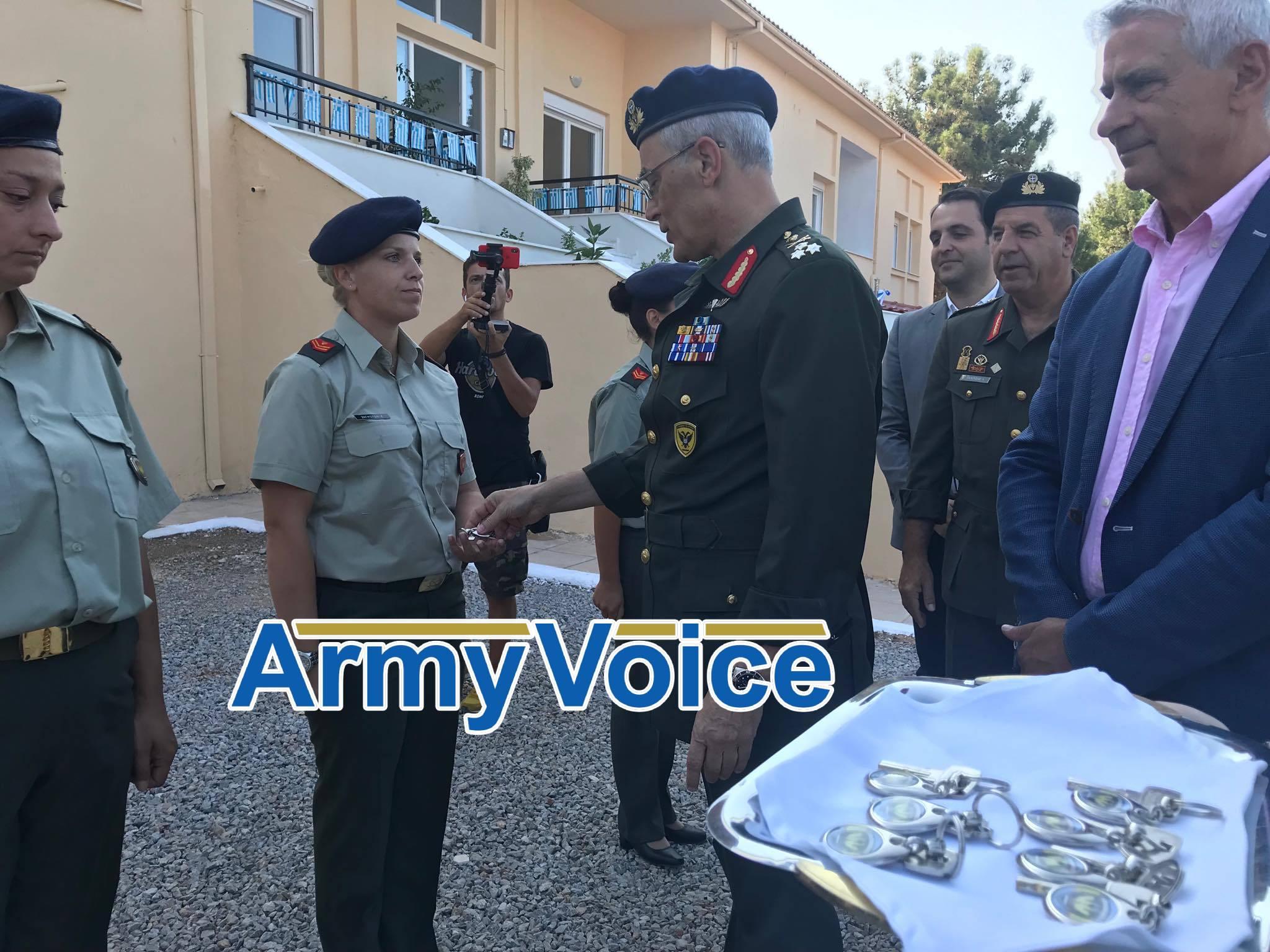 12η Μεραρχία ΣΟΕΠΟΠ: Τα κλειδιά στο χέρι των ΕΠΟΠ έδωσε ο Αρχηγός ΓΕΣ - ΦΩΤΟ