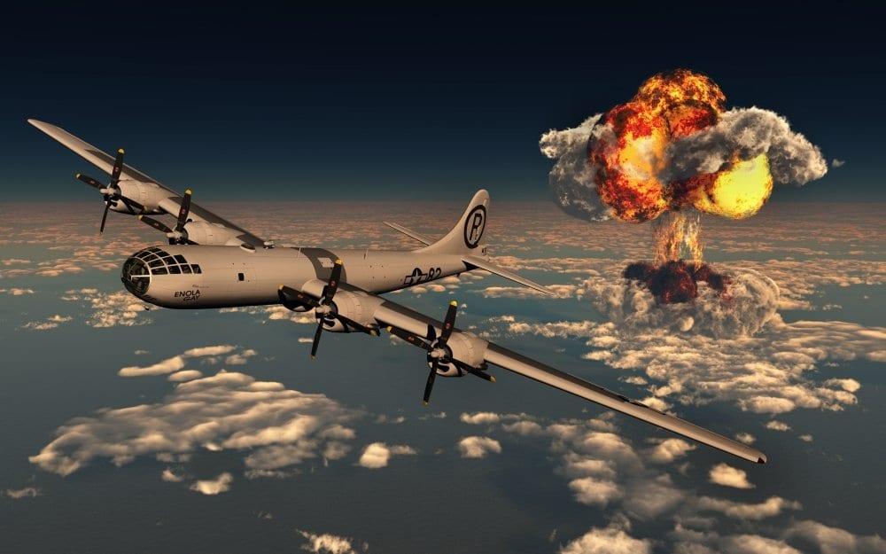 6 Αυγούστου 1945: Το Enola Gay ρίχνει ατομική βόμβα στη Χιροσίμα