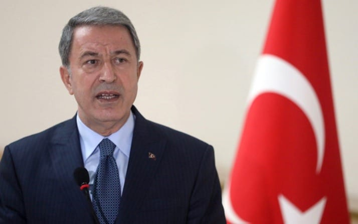 Ακάρ Τουρκία Κλείνουν Στρατιωτικές Σχολές αναβάλλονται ασκήσεις Συρία - Ακάρ: Έτοιμοι για την τουρκική εισβολή - Χτύπησαν Κούρδους Τηλεφώνημα Ακάρ σε Παναγιωτόπουλο και μια περίεργη σύμπτωση Συρία: Ενεργό το κέντρο κοινών επιχειρήσεων ΗΠΑ-Τουρκίας λέει ο Ακάρ