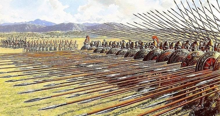 2 Αυγούστου 338 πΧ Η Μάχη της Χαιρώνειας και η μακεδονική φάλαγγα - Σηματοδοτεί ουσιαστικά την αφετηρία της μακεδονικής κυριαρχίας