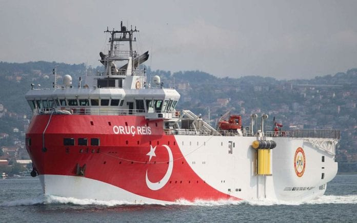 NAVTEX για το Οruc Reis Προς θερμό επεισόδιο Ελλάδα Τουρκία; Τουρκική NAVTEX: Τα 10 μηνύματα στην Ελλάδα και την Ευρώπη Στη Ρόδο το τουρκικό Ορούτς Ρέις - Ελληνικές φρεγάτες στην περιοχή