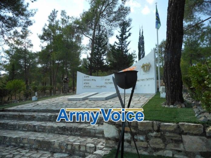 Ο στρατηγός Τραχανατζής στο μνημόσυνο Καταδρομέων στην Κύπρο ΦΩΤΟ