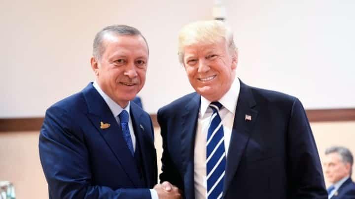 Πράσινο φως από Τραμπ για τα τουρκικά στρατεύματα στη Λιβύη Συρία Τηλεφωνική επικοινωνία Ερντογάν - Τραμπ