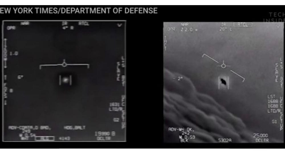 Πολεμικό Ναυτικό ΗΠΑ: Αληθινά τα video με UFO από πιλότους F-18