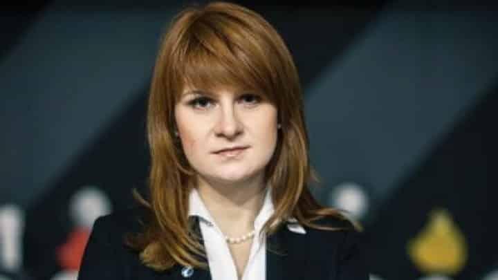 Ρωσίδα πράκτορας Μαρία Μπούτινα Ρώσοι
