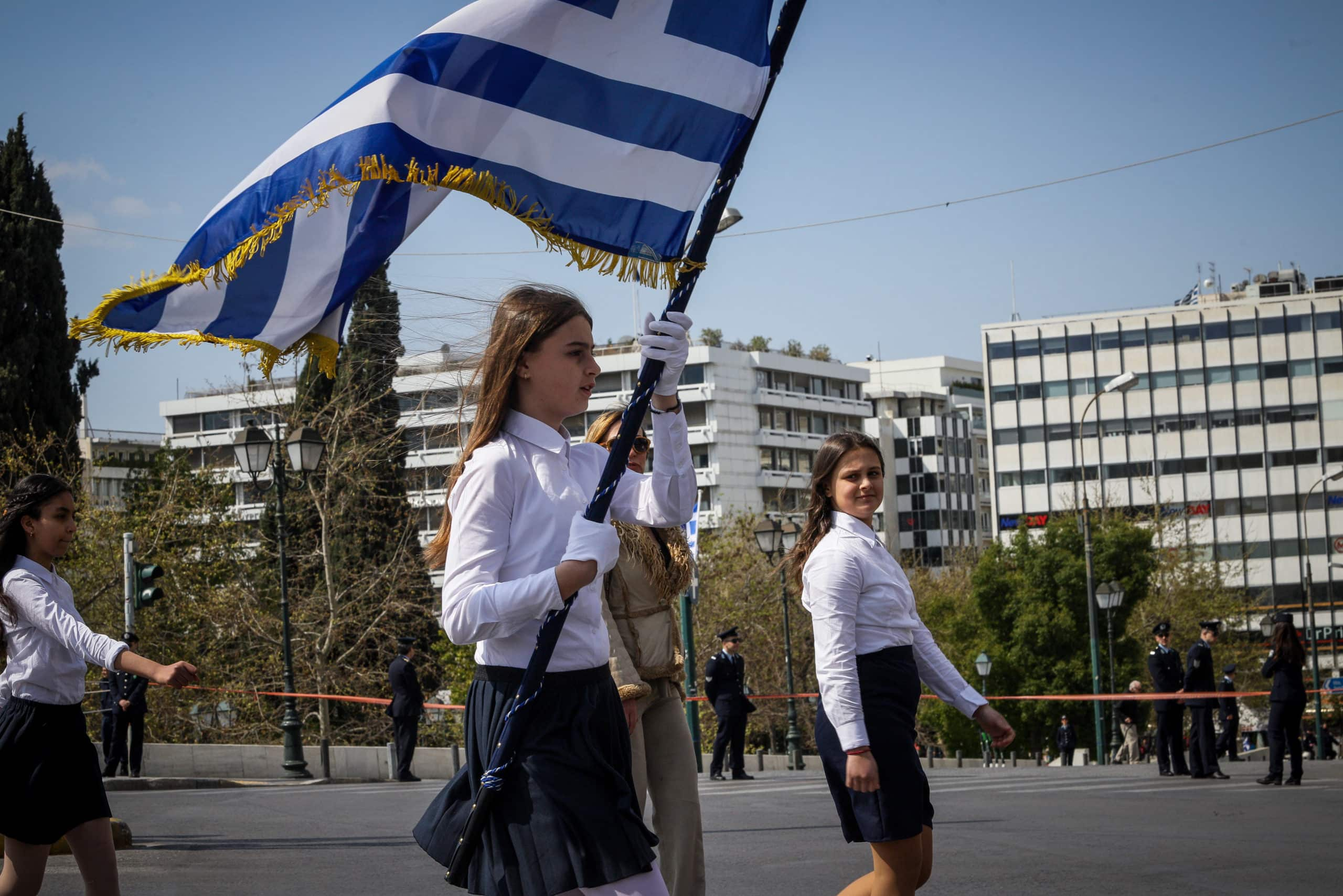 Παρωχημένη η μαθητική παρέλαση για την 25η Μαρτίου 28η Οκτωβρίου: Μαθητική παρέλαση Αθήνα Πειραιά - Κλειστοί δρόμοι