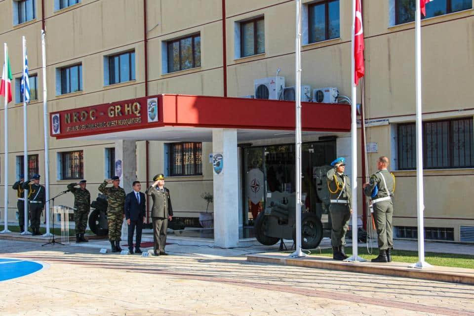 Γ' ΣΣ -NRDC-GR: Έλληνες στρατιώτες ύψωσαν την τουρκική σημαία!