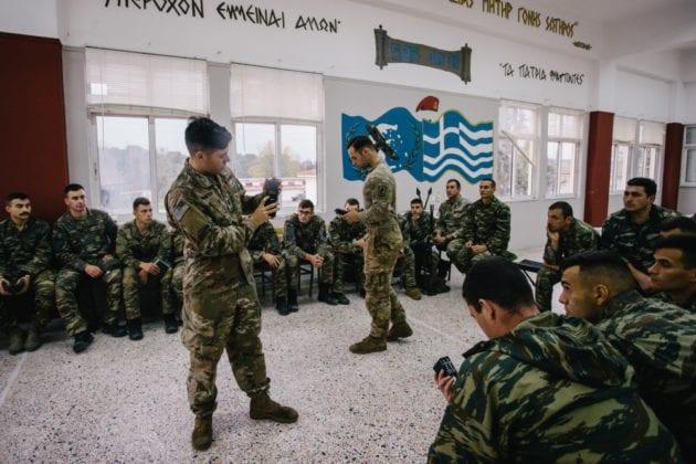 Αμερικάνοι Αλεξιπτωτιστές μαθαίνουν Krav Maga από Έλληνες στο Κιλκίς