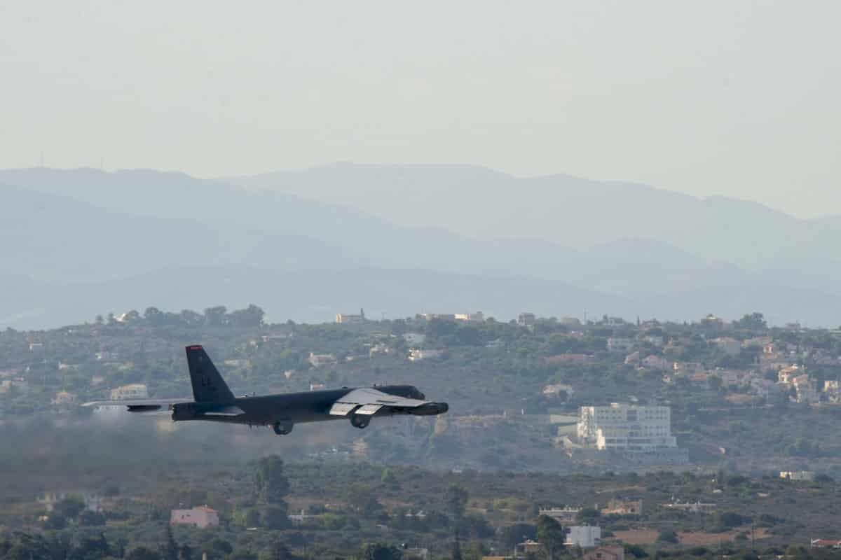 Αμερικανικό Βομβαρδιστικό B-52 Stratofortress πρώτη φορά στη Σούδα
