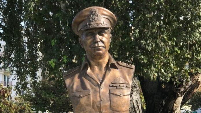 Ελευθέριος Χανδρινός: Η πατρίδα τον τιμά με προτομή στην Κέρκυρα για τη δράση του κατά της τουρκικής εισβολής στην Κύπρο το 1974