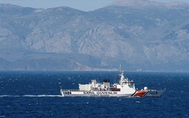 Τουρκική ακταιωρός παρενόχλησε Έλληνα ψαρά στην Καλόλιμνο