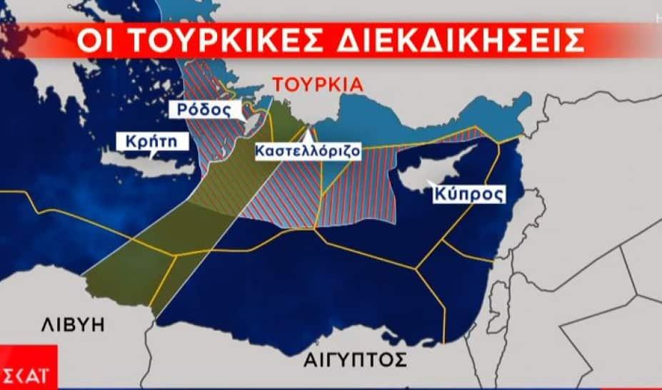 Τουρκία: Σενάριο για γεωτρήσεις στην Κρήτη