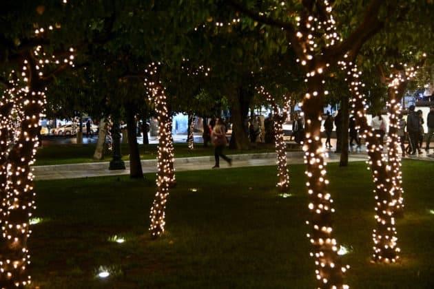 Αθήνα: Δείτε το χριστουγεννιάτικο δέντρο Άναψε υπό βροχή ΦΩΤΟ 2 Αθήνα: Δείτε το χριστουγεννιάτικο δέντρο Άναψε υπό βροχή ΦΩΤΟ