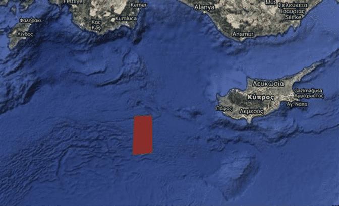 Τουρκική NAVTEX για σεισμικές έρευνες στην Ελληνική και Κυπριακή ΑΟΖ