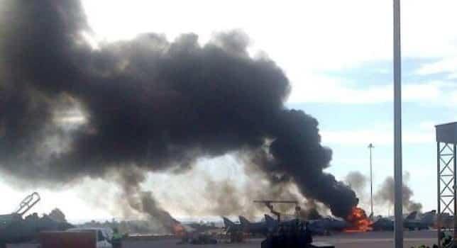 26 Ιανουαρίου 2015: Πολεμική Αεροπορία Τραγωδία με F-16 στην Ισπανία