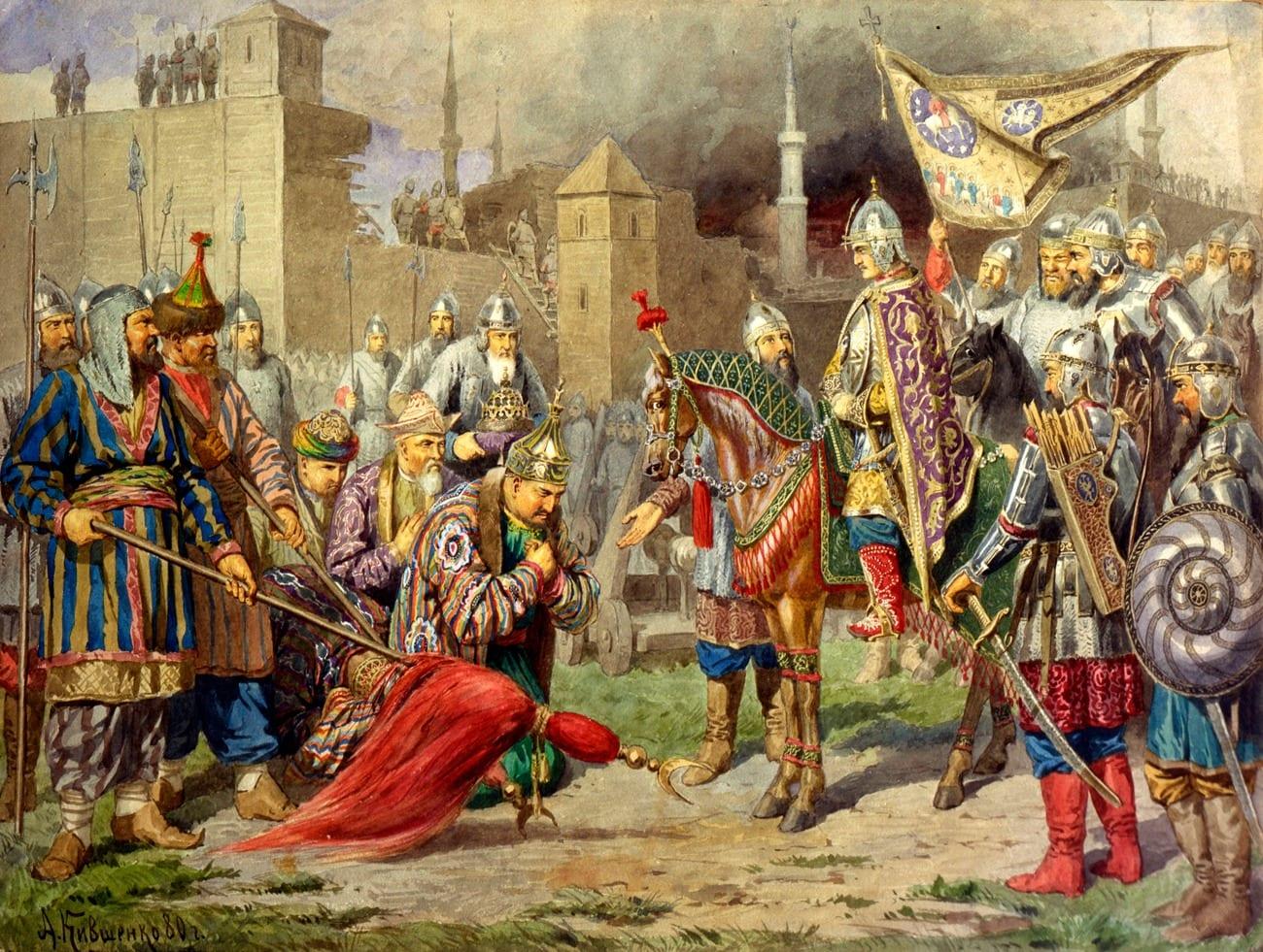 16 Ιανουαρίου 1547: Τσάρος Ιβάν ο τρομερός - Απόγονος Παλαιολόγων