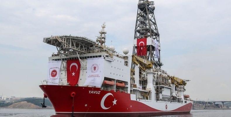 Τουρκικό γεωτρύπανο ΓΙΑΒΟΥΖ στην κυπριακή ΑΟΖ - Αντίδραση ΥΠΕΞ