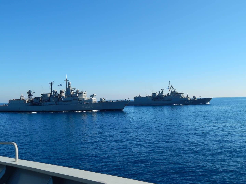 Έβρος - Αιγαίο: Με το δάχτυλο στη σκανδάλη τα στελέχη στα σύνορα Άσκηση ΛΟΓΧΗ Το Πολεμικό Ναυτικό δείχνει τα κανόνια του