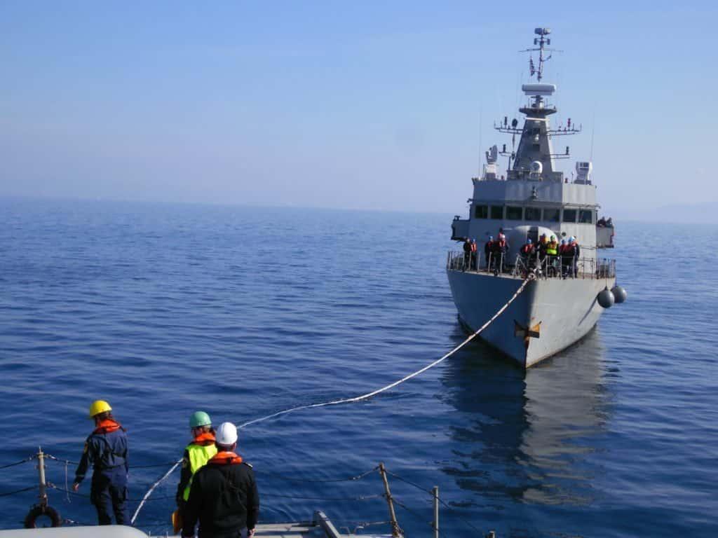 Άσκηση ΛΟΓΧΗ Το Πολεμικό Ναυτικό δείχνει τα κανόνια του