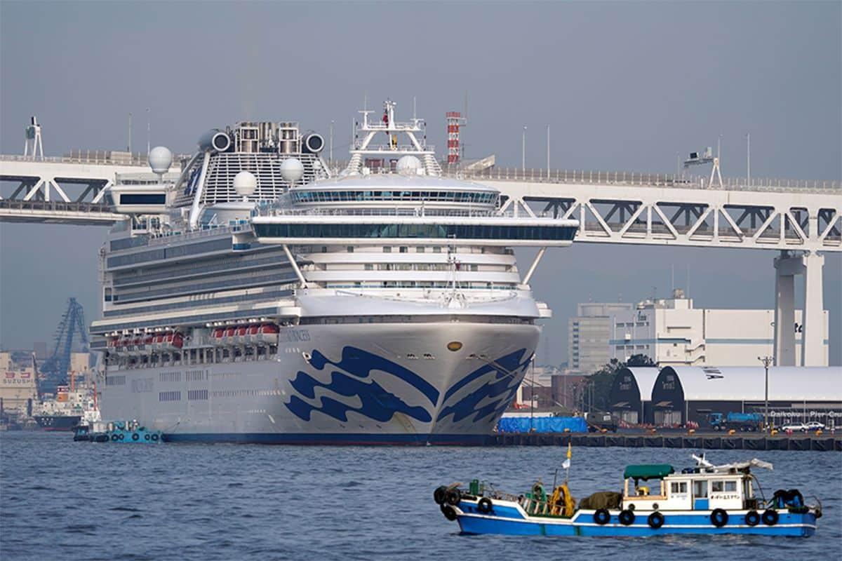 Κορονοϊός: 70 νέα κρούσματα στο κρουαζιερόπλοιο Diamond Princess