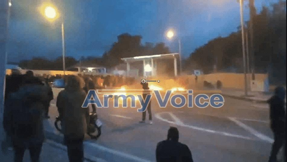 Ακρίτες εναντίον Στρατού: Πολιορκούν την 98 ΑΔΤΕ VIDEO